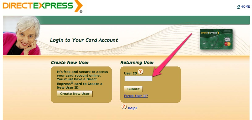 how to create a user id for medicare express