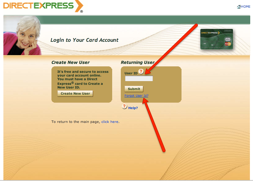 """Direct Express Change Pin Number"""